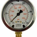 Đồng hồ đo áp suất mặt 63mm