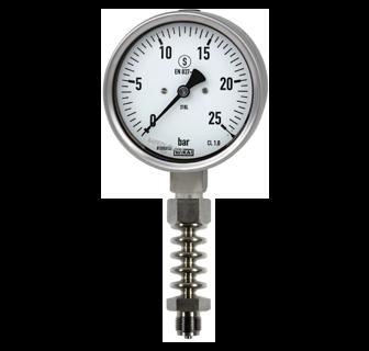 đồng hồ đo áp suất hơi nóng