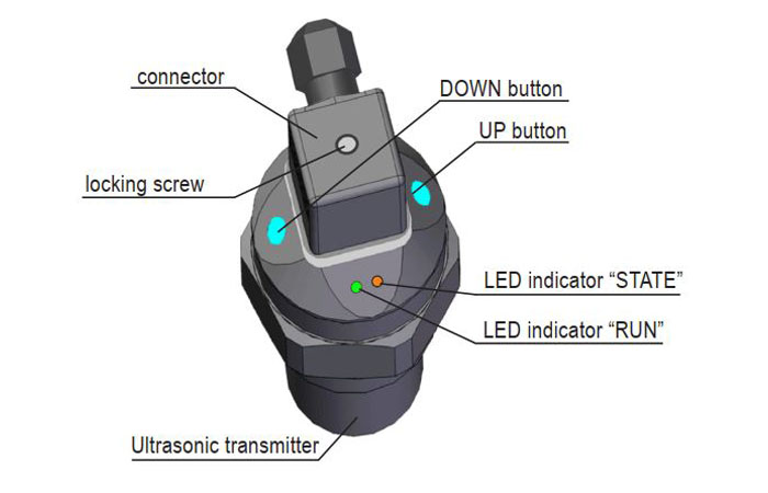 cài đặt cảm biến siêu âm ulm-53n-10