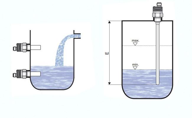 cảm biến điện dung đo mức xăng dầu