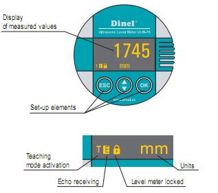 cảm biến đo mức xăng dầu của hãng Dinel