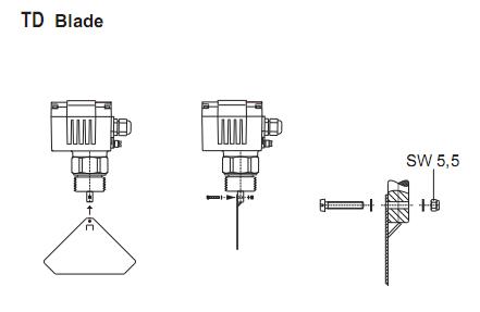 Công tắc xoay báo mức bột cám DF11 Mollet