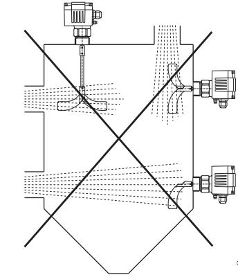 Lắp đặt cảm biến xoay báo mức cám DF11