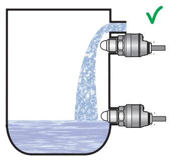 Cảm biến chống tràn báo cạn chất lỏng