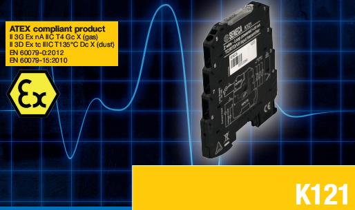 Bộ chuyển đổi tín hiệu nhiệt độ ra 4-20mA K121