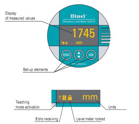 Cảm biến đo mực nước trong bể ULM-70N