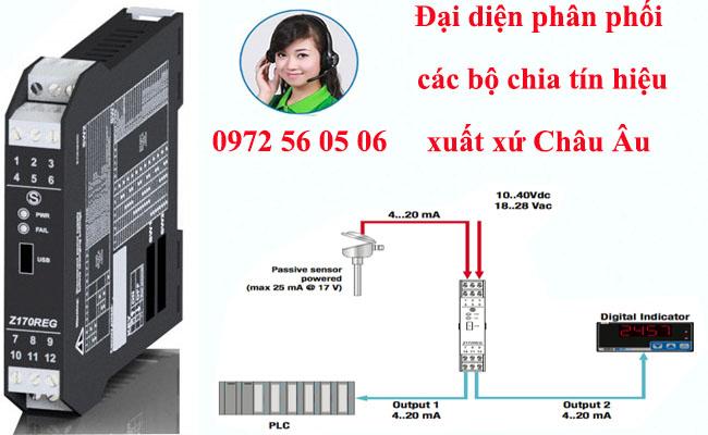 bộ chuyển đổi tín hiệu biến trở sang 4-20ma 0-10v