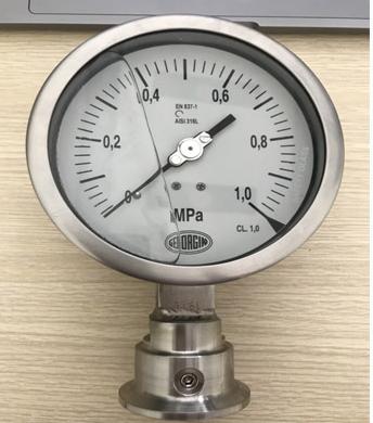 Đồng hồ đo áp suất dạng màng Georgin