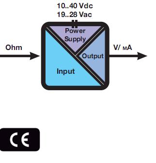 Bộ chuyển đổi điện trở sang 0-10V 4-20mA