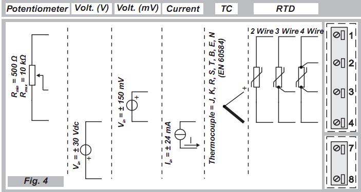 Cài đặt cho bộ chuyển đổi tín hiệu điện trở sang 4-20mA