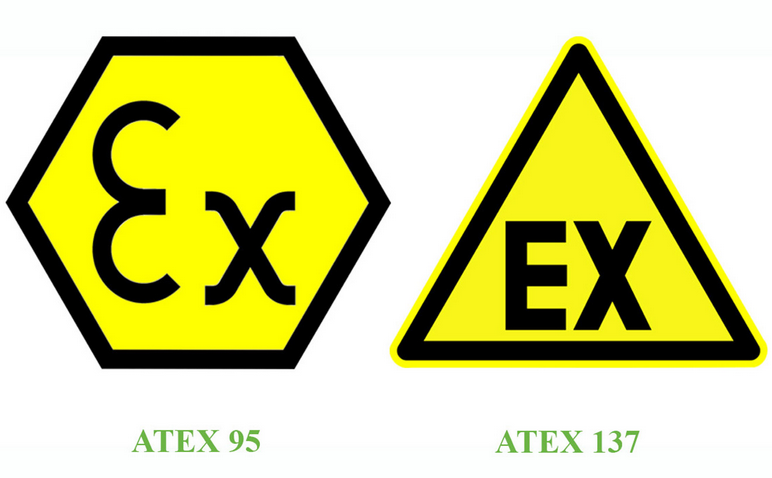 Nhãn ATEX của tiêu chuẩn chống cháy nổ trong công nghiệp