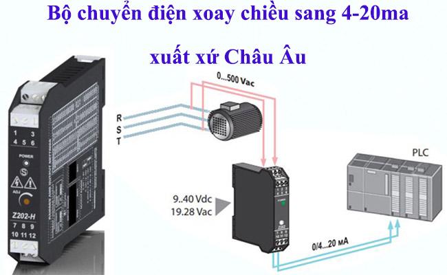 Bộ chuyển dòng điện xoay chiều ac sang dc