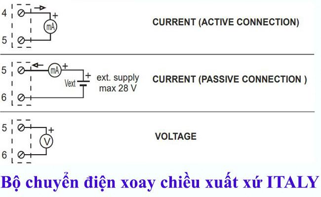 Bộ đổi điện xoay chiều AC sang 4-20ma