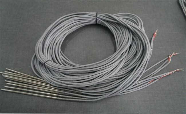 Dây cảm biến nhiệt độ pt100 3 dây loại không ren