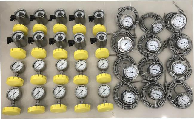 Đồng hồ áp suất PBX100LA-MM-D