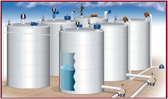 Cảm biến báo mức dầu 0-10m