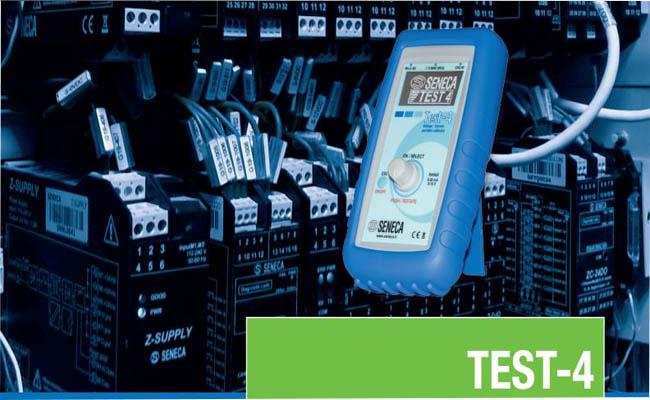 Đồng hồ đo dòng Test-4 Seneca