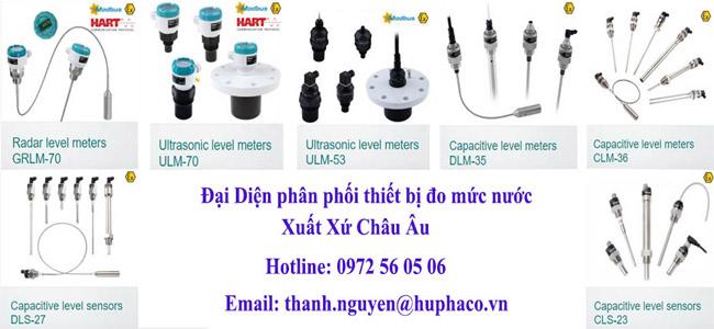 Tổng hợp các giải pháp đo mức nước hãng Dinel