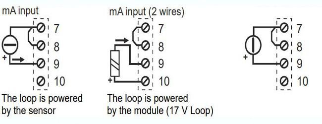 Đấu dây tín hiệu analog vào bộ S311A-4-H
