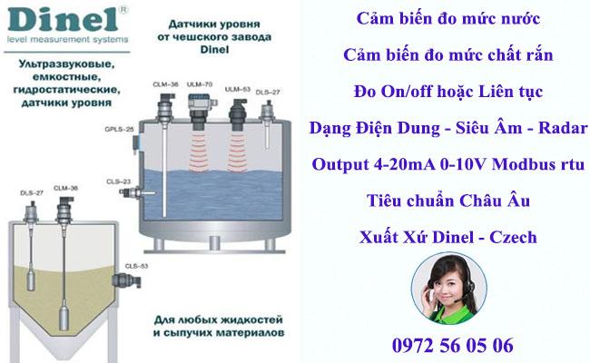thiết bị đo mức chất lỏng xuất xứ eu