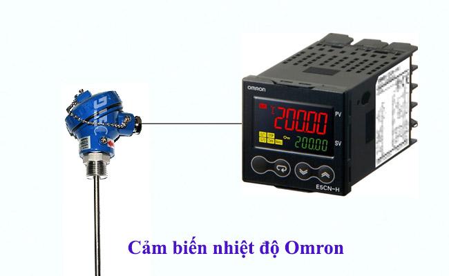cảm biến nhiệt độ pt100 hãng omron
