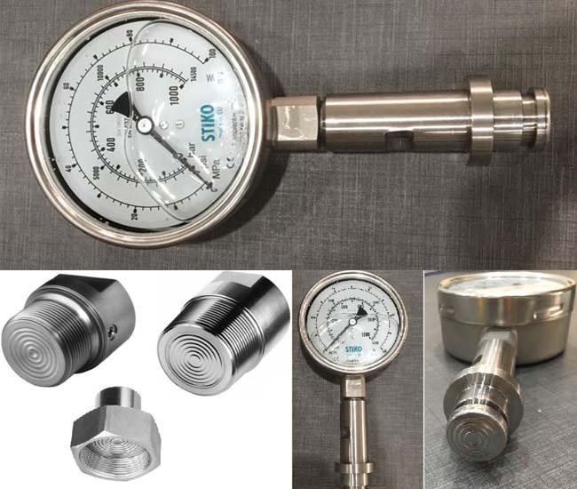 đồng hồ đo áp suất 1000 bar