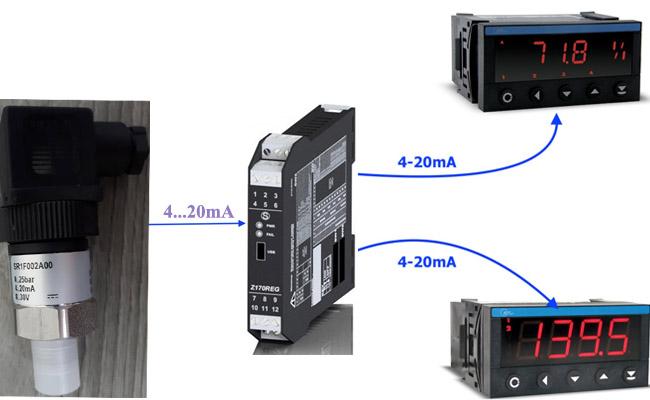 cảm biến áp suất georgin SR1F002A00