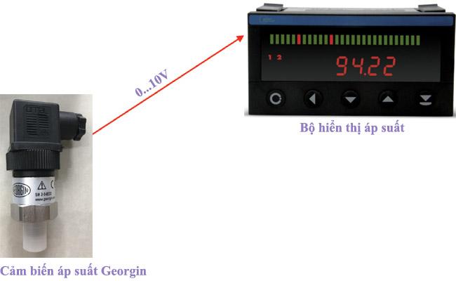 cảm biến áp suất georgin SR1U000C000