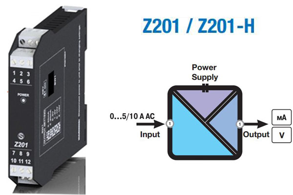 sensor đo dòng 4-20ma z201-h