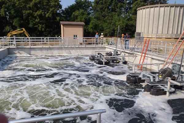 bể điều hòa trong hệ thống xử lý nước thải