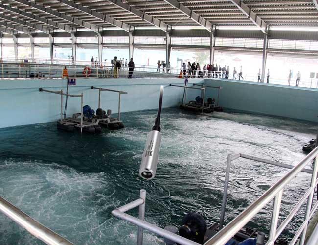 cảm biến đo mức nước thải thả chìm
