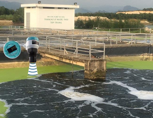đo mức nước thải bằng phương pháp siêu âm
