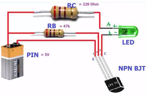 công dụng của các linh kiện điện tử transistor