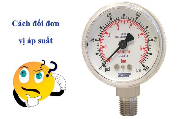đơn vị đo áp suất là gì