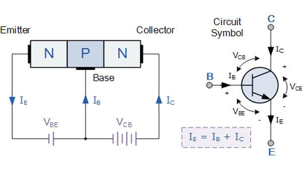 transistor npn là gì