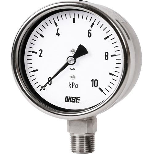 đồng hồ áp kế 0-10 kpa hãng wise