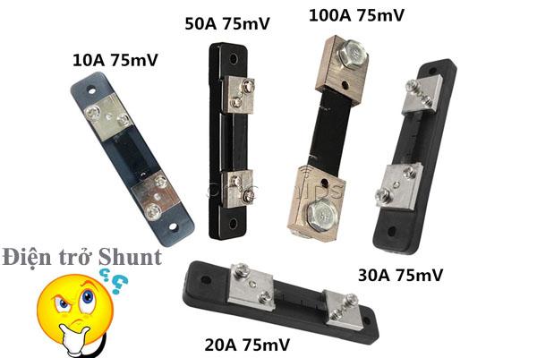 điện trở shunt là gì