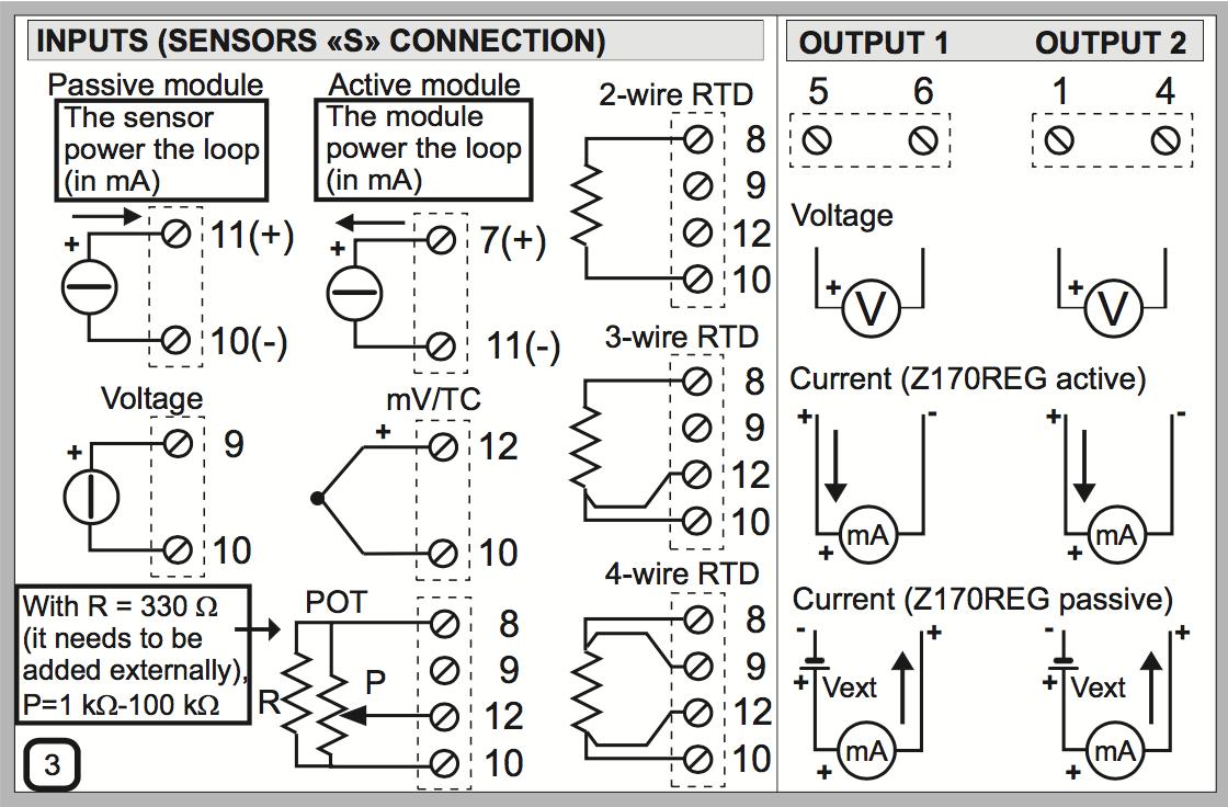 hướng dần kết nối bộ chia tín hiệu 4-20mA Z170REG-1