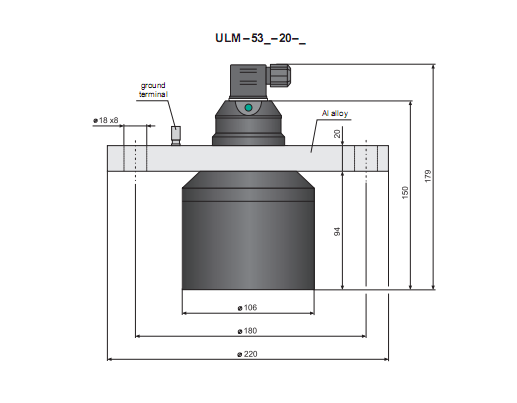 chuẩn kết nối của cảm biến báo mức chất lỏng