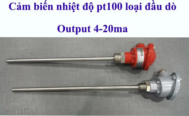 Cảm biến đo nhiệt độ rtd pt100 3 dây