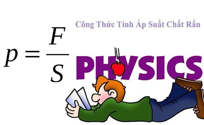 công thức tính áp suất chất rắn