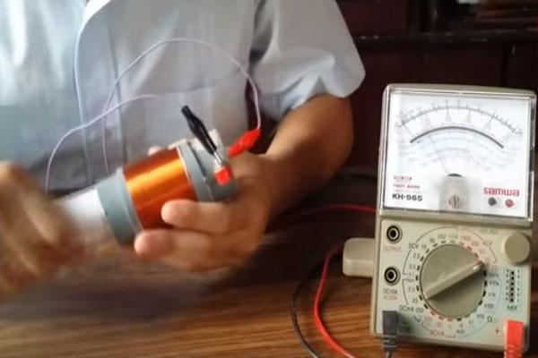 cách tạo dòng điện cảm ứng trong mạch kín có chiều